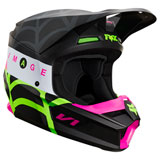 Fox Racing Youth V1 Venin Helmet Black