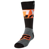 Fox Racing Youth MX Afterburn Socks Black