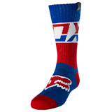Fox Racing Youth MX Afterburn Socks Blue