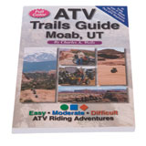 FunTreks Guidebooks ATV Trails Guide Moab, UT