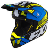 FXR Racing Clutch Boost Helmet Blue/Hi-Vis