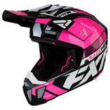 FXR Racing Clutch Boost Helmet Elec Pink