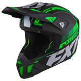 FXR Racing Clutch Boost Helmet Lime