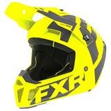FXR Racing Clutch CX Helmet Hi-Vis/Charcoal