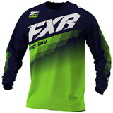 FXR Racing Clutch Jersey Midnight/Lime