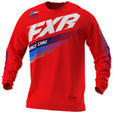 FXR Racing Clutch Jersey Red
