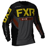 FXR Racing Podium Off-Road Jersey Black/Char/Rust/Gold