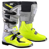 Gaerne Youth GX-J Boots Grey/Flo Yellow
