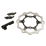 Galfer Oversized Floating Wave Brake Rotor Kit, Front