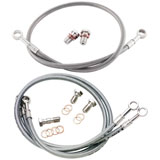 Galfer Stainless Steel Front and Rear Brake Line Kit