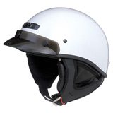 GMax GM 35 Half-Face - Dressed  Motorcycle Helmet