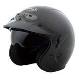 GMax GM32 Open Face Helmet Black