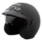 GMax GM32 Open Face Helmet Flat Black