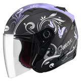 GMax Women's OF77 Butterflies Open Face Helmet