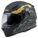 GMax FF49 Yarrow Helmet Black/Gold