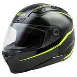 GMax FF88 Precept Helmet Black/Hi-Viz Yellow
