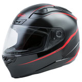 GMax FF88 Precept Helmet Black/Red