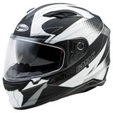 GMax FF98 Apex Helmet Black/White