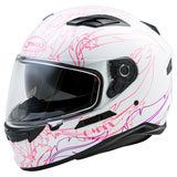 GMax FF98 Willow Helmet White/Pink