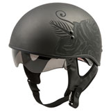GMax GM65 Naked Devotion Helmet Matte Black