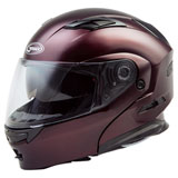 GMax MD01 Modular Helmet Wine Red