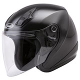 GMax OF17 Open Face Helmet Black