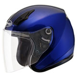 GMax OF17 Open Face Helmet Blue