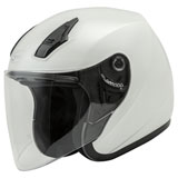 GMax OF17 Open Face Helmet Pearl White