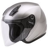 GMax OF17 Open Face Helmet Titanium