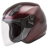 GMax OF17 Open Face Helmet Wine Red
