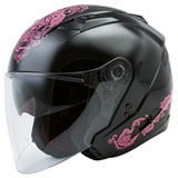 GMax OF77 Eternal Helmet Black/Pink