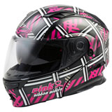 GMax MD01 Women's Pink Ribbon Riders Modular Helmet Black/Pink
