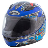 GMax Youth GM49Y Alien Helmet