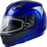 GMax MD04S Docket Cold Weather Modular Helmet Blue/Black