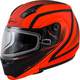 GMax MD04S Docket Cold Weather Modular Helmet Hi-Viz Orange/Black