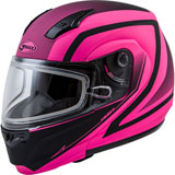 GMax MD04S Docket Cold Weather Modular Helmet Pink/Black