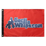 Gorilla Whips Twisted Silver LED Lighted Whip Replacement Flag