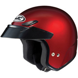 HJC CS-5N Open-Face Motorcycle Helmet Wine