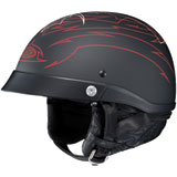 HJC CL-Ironroad Showboat Half-Face Helmet  Red
