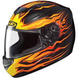 HJC CS-R2 Flame Block Full-Face Motorcycle Helmet