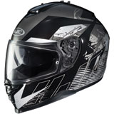 HJC IS-17 Blur Ladies Full-Face Motorcycle Helmet
