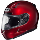 HJC CL-17 Full-Face Motorcycle Helmet Wine