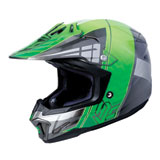 HJC CL-X7 Cross-Up Helmet Green