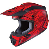 HJC CS-MX 2 Squad Helmet Matte Red