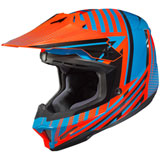 HJC CL-X7 Hero Helmet Blue/Orange