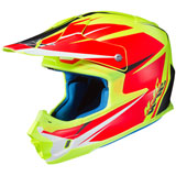HJC FG-MX Axis Helmet Semi-Flat Hi-Vis Yellow