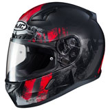 HJC CL-17 Arica Helmet Black/Red
