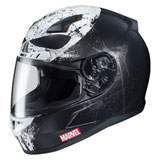 HJC CL-17 Marvel Punisher 2 Helmet Black/White