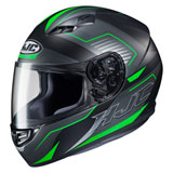 HJC CS-R3 Trion Helmet Black/Green