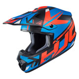HJC CS-MX 2 Madax Helmet Semi-Flat Blue/Red
